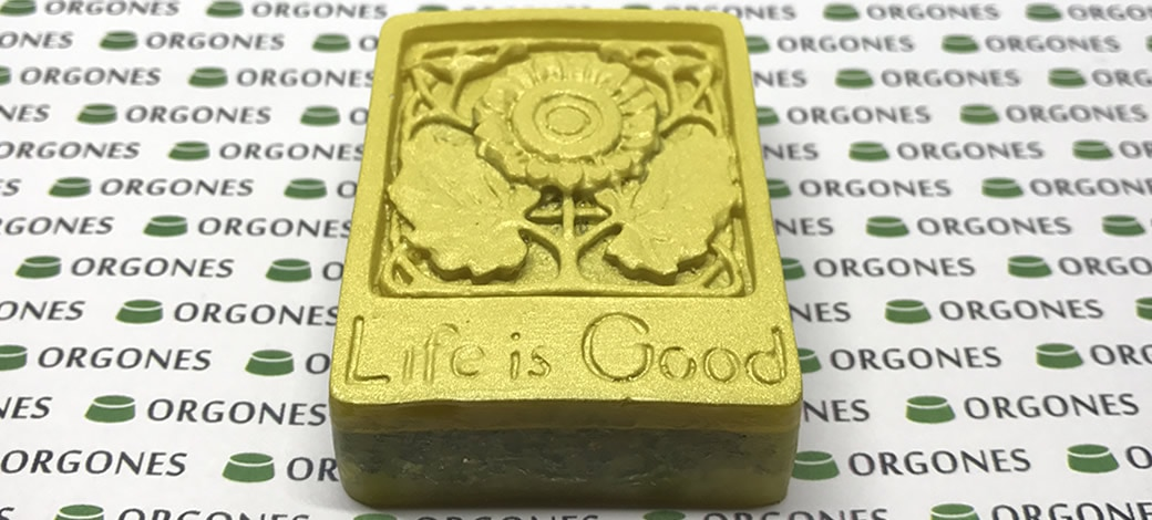 Orgones Life Is Good Lemurian Cluster Sadness Aid