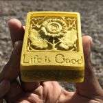 life is good depression orgonite aid piece
